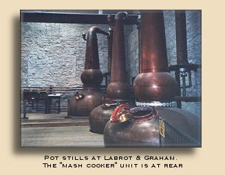 Pot Stills at Labrot & Graham